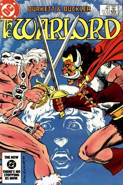 Cover for Warlord (DC, 1976 series) #89 [Direct-Sales Variant]