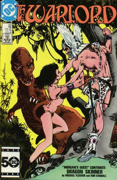 Cover for Warlord (DC, 1976 series) #104