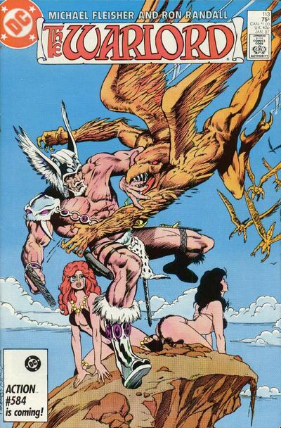 Cover for Warlord (DC, 1976 series) #113 [direct]