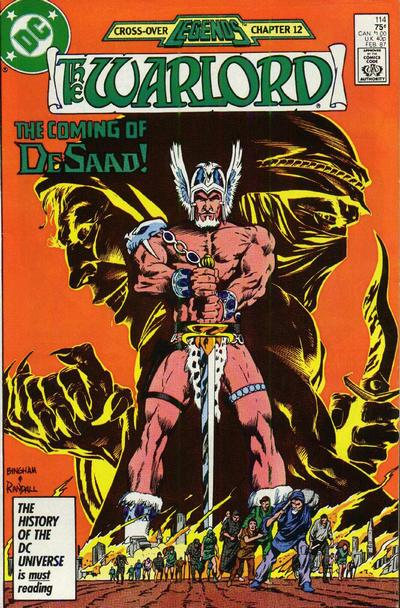 Cover for Warlord (1976 series) #114