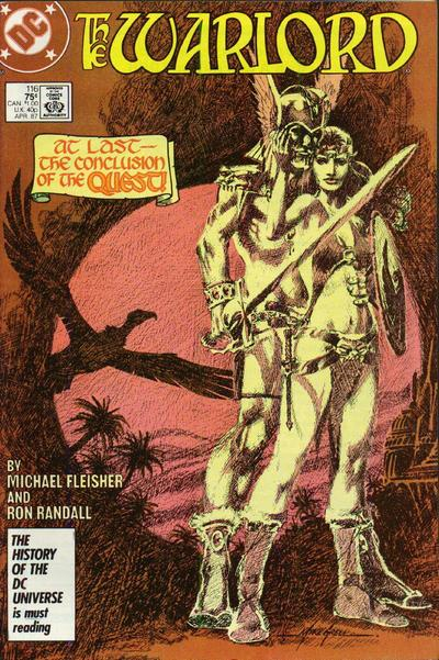 Cover for Warlord (1976 series) #116