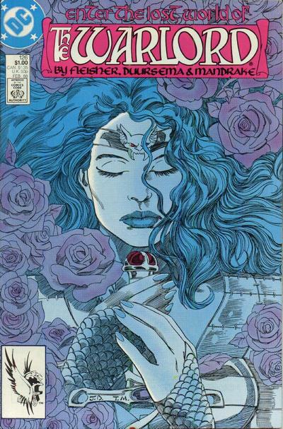 Cover for Warlord (DC, 1976 series) #126 [direct]