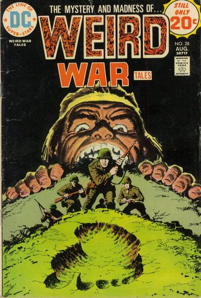 Cover for Weird War Tales (DC, 1971 series) #28