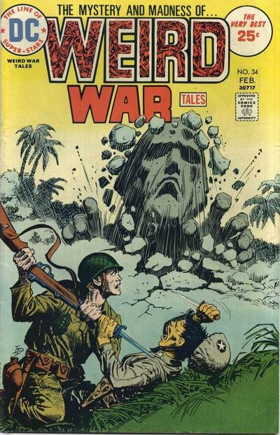 Cover for Weird War Tales (1971 series) #34