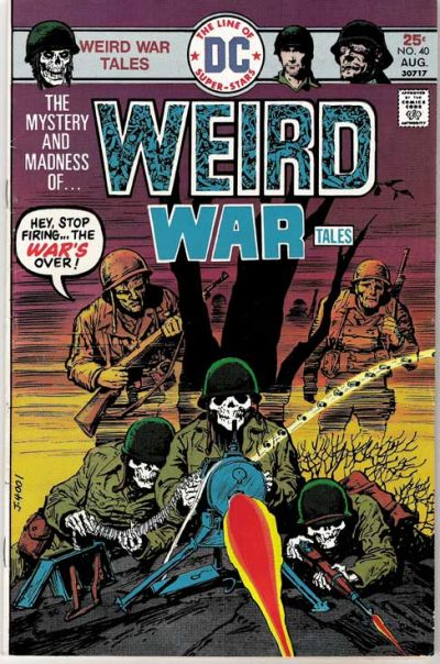 Cover for Weird War Tales (DC, 1971 series) #40