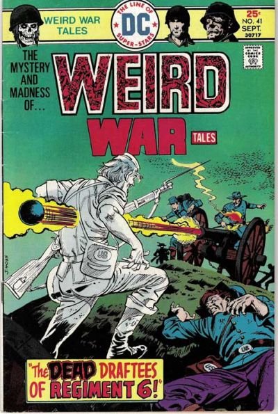 Cover for Weird War Tales (DC, 1971 series) #41