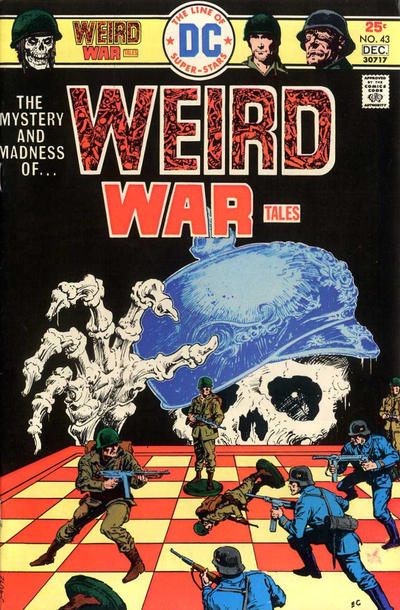 Cover for Weird War Tales (DC, 1971 series) #43