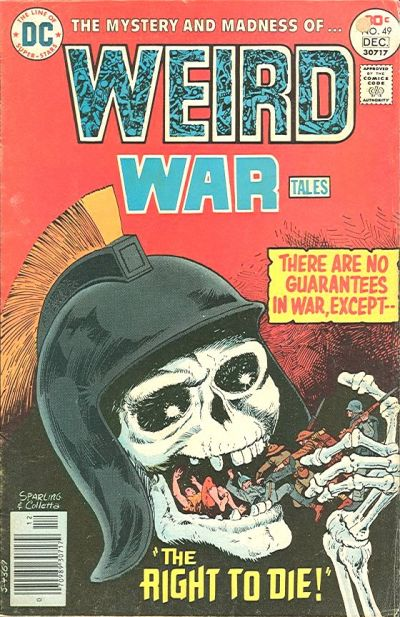 Cover for Weird War Tales (DC, 1971 series) #49