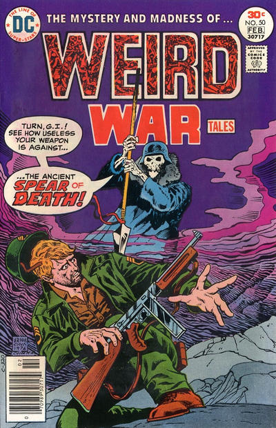 Cover for Weird War Tales (DC, 1971 series) #50