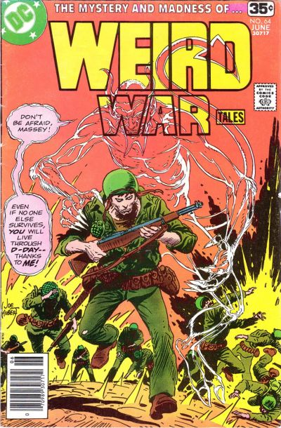 Cover for Weird War Tales (DC, 1971 series) #64