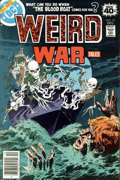 Cover for Weird War Tales (DC, 1971 series) #70