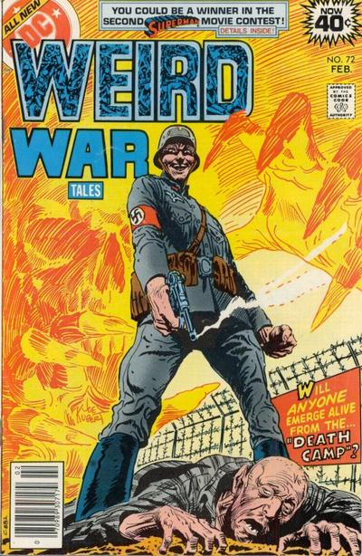 Cover for Weird War Tales (DC, 1971 series) #72