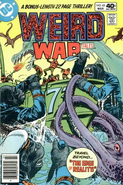 Cover for Weird War Tales (DC, 1971 series) #85