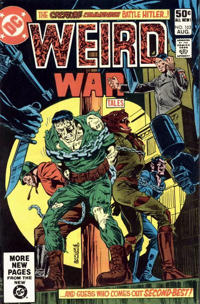 Cover for Weird War Tales (DC, 1971 series) #102