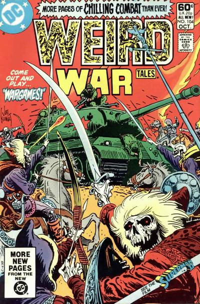 Cover for Weird War Tales (DC, 1971 series) #104
