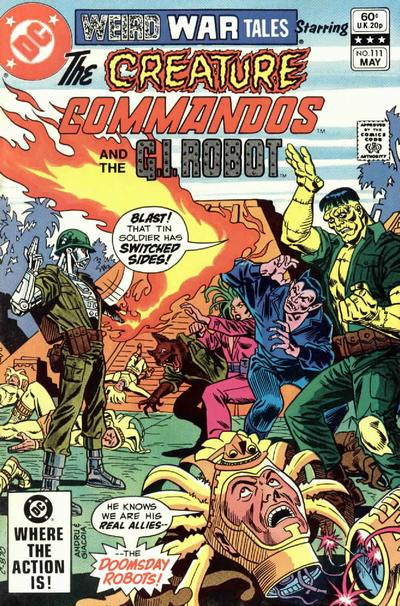 Cover for Weird War Tales (DC, 1971 series) #111