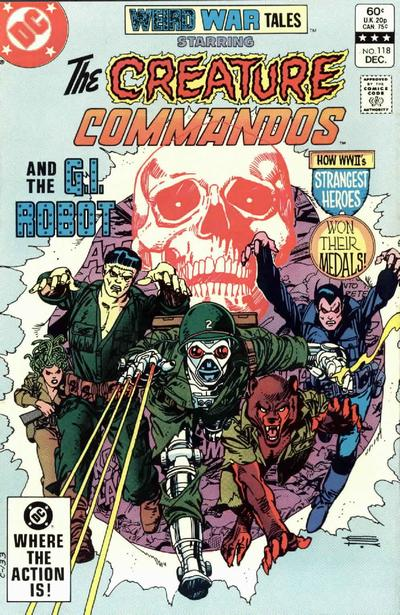 Cover for Weird War Tales (DC, 1971 series) #118