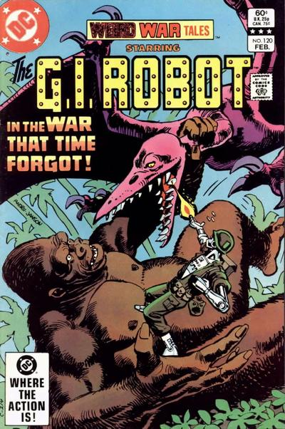 Cover for Weird War Tales (DC, 1971 series) #120 [Direct-Sales]