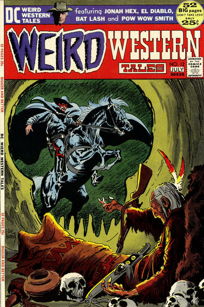 Cover for Weird Western Tales (1972 series) #12