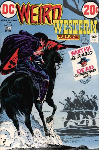 Cover for Weird Western Tales (DC, 1972 series) #15