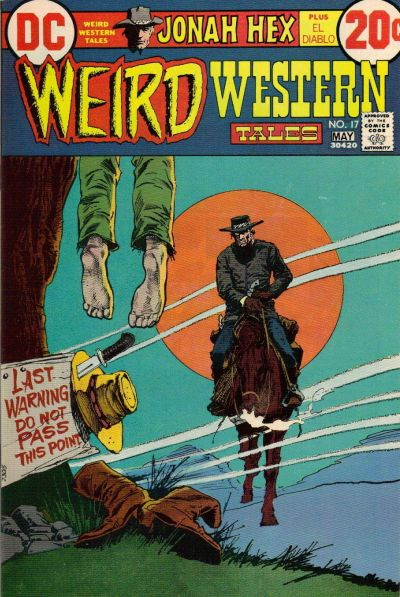 Cover for Weird Western Tales (DC, 1972 series) #17