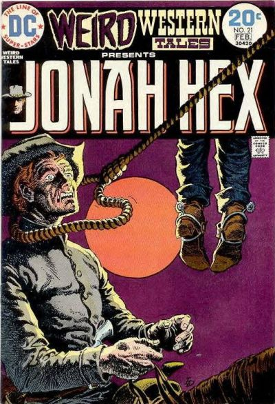 Cover for Weird Western Tales (DC, 1972 series) #21