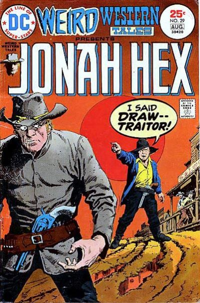 Cover for Weird Western Tales (DC, 1972 series) #29