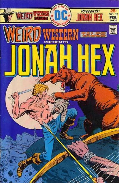 Cover for Weird Western Tales (DC, 1972 series) #32