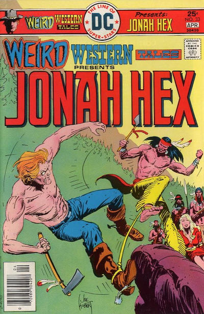 Cover for Weird Western Tales (DC, 1972 series) #33