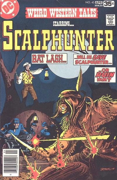 Cover for Weird Western Tales (DC, 1972 series) #45