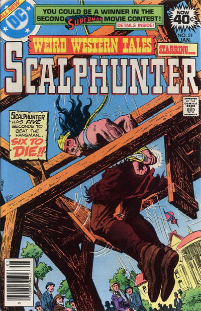 Cover for Weird Western Tales (DC, 1972 series) #51
