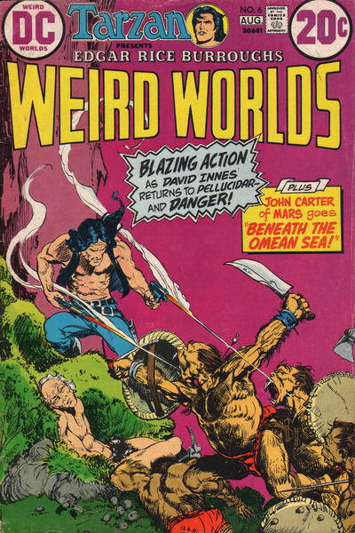 Cover for Weird Worlds (DC, 1972 series) #6
