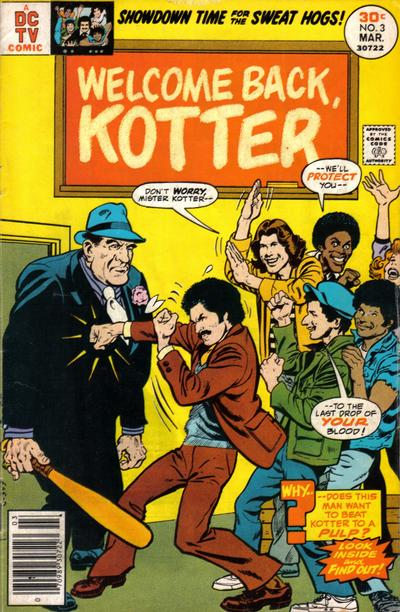 Cover for Welcome Back, Kotter (DC, 1976 series) #3