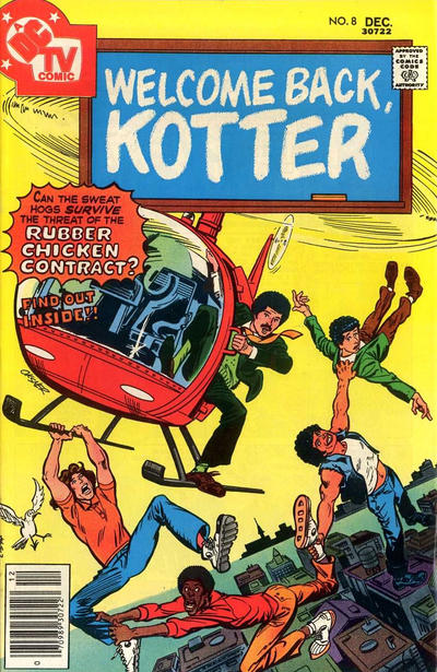 Cover for Welcome Back, Kotter (DC, 1976 series) #8