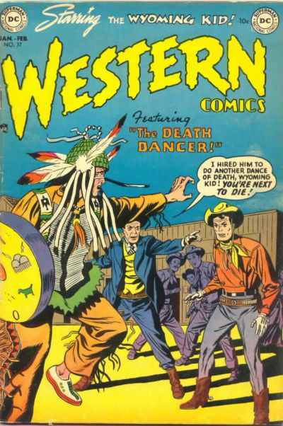 Cover for Western Comics (DC, 1948 series) #37