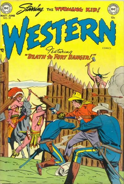 Cover for Western Comics (DC, 1948 series) #39