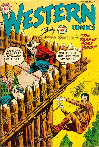 Cover for Western Comics (1948 series) #49