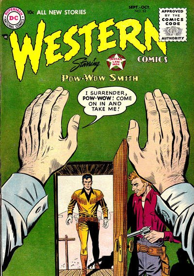 Cover for Western Comics (DC, 1948 series) #53