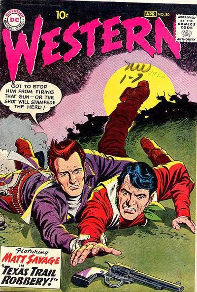 Cover for Western Comics (DC, 1948 series) #80