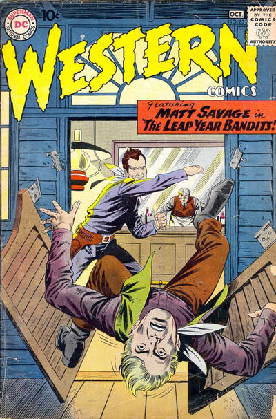 Cover for Western Comics (DC, 1948 series) #83