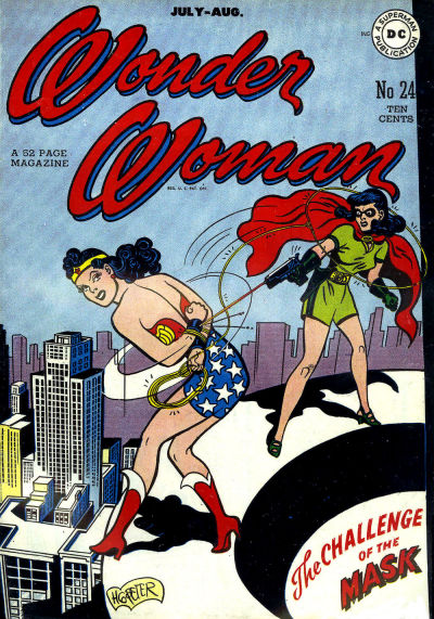 Cover for Wonder Woman (1942 series) #24