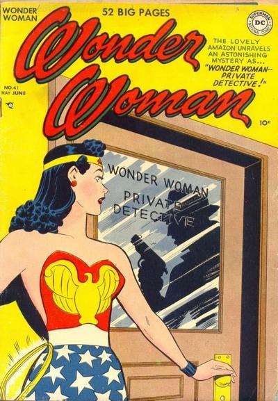 Cover for Wonder Woman (DC, 1942 series) #41