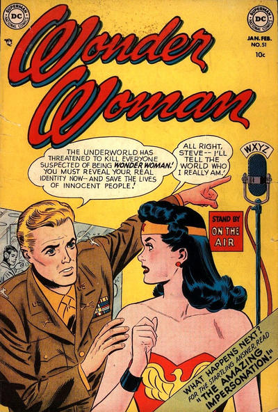 Cover for Wonder Woman (DC, 1942 series) #51