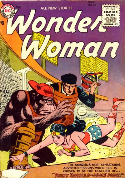 Cover for Wonder Woman (DC, 1942 series) #78