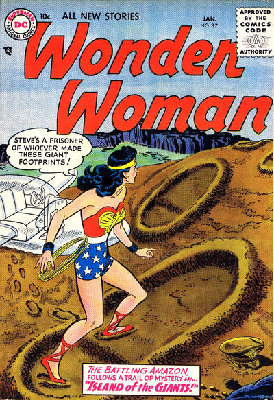 Cover for Wonder Woman (DC, 1942 series) #87