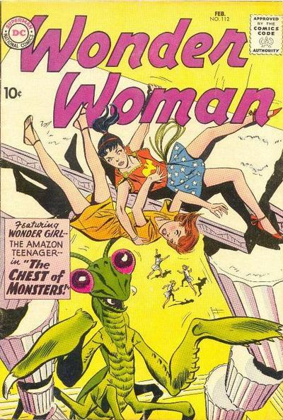 Cover for Wonder Woman (DC, 1942 series) #112