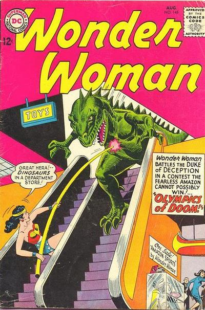 Cover for Wonder Woman (DC, 1942 series) #148