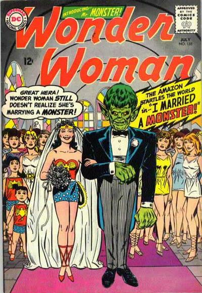 Cover for Wonder Woman (DC, 1942 series) #155