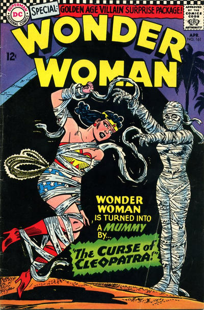 Cover for Wonder Woman (1942 series) #161