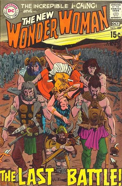 Cover for Wonder Woman (DC, 1942 series) #184